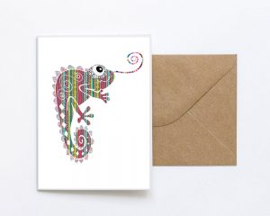 CHEMLEON Greeting Card