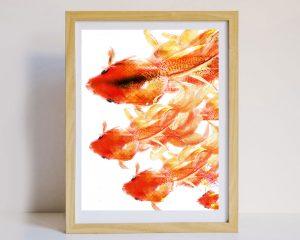 Fish Greeting Card Wall Art