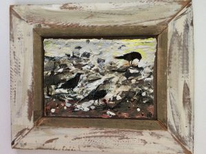 Crows Feasting at Low Tide by Frances Hatch – Sustainable Greeting Card 2020/21