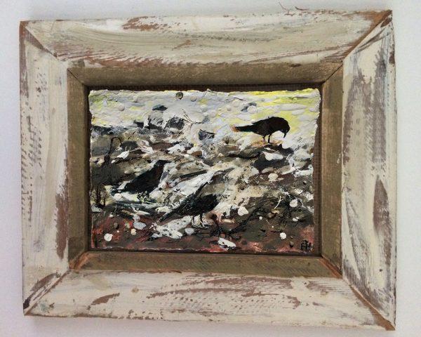 Frances Hatch Birds Wall Art A5 framed