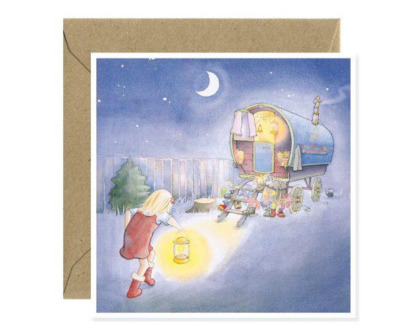 Childrens Book Grandad Greetings Card Art