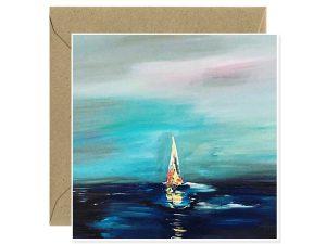 Lonely Sailing by Fernanda Merlino