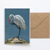 Heron Greeting Card Art Sue Over